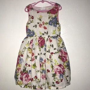 White floral girls dress from the children's place